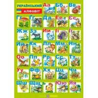 Український алфавіт. Плакат двосторонній /для учня/