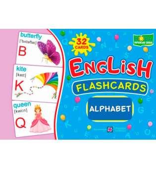 Alphabet/Алфавіт. Комплект флеш-карток з англійської мови