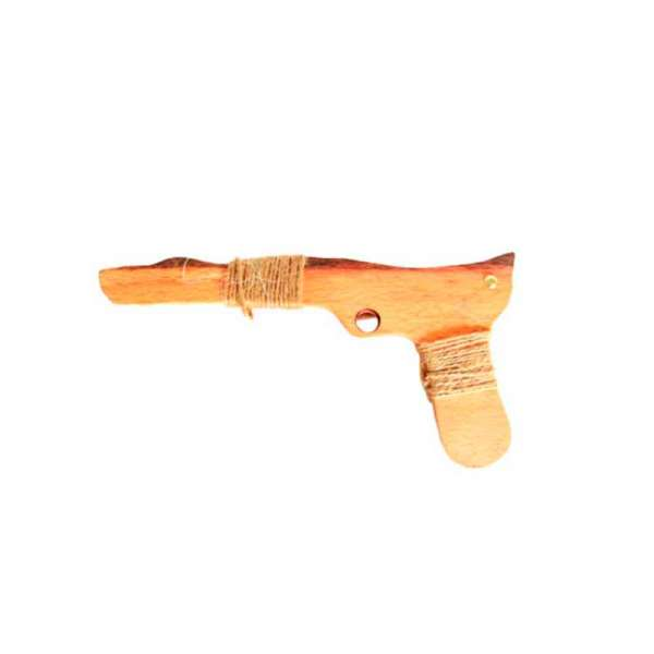 Зброя Пістолет з дерева великий 27см