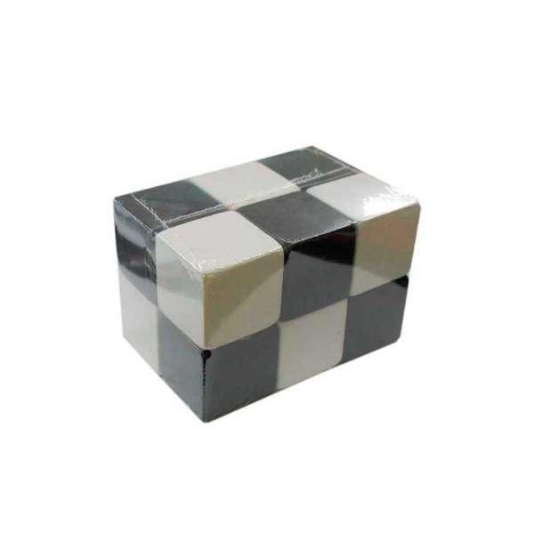Кубики дерев`ні чорно-білі 5х5см 12 штук