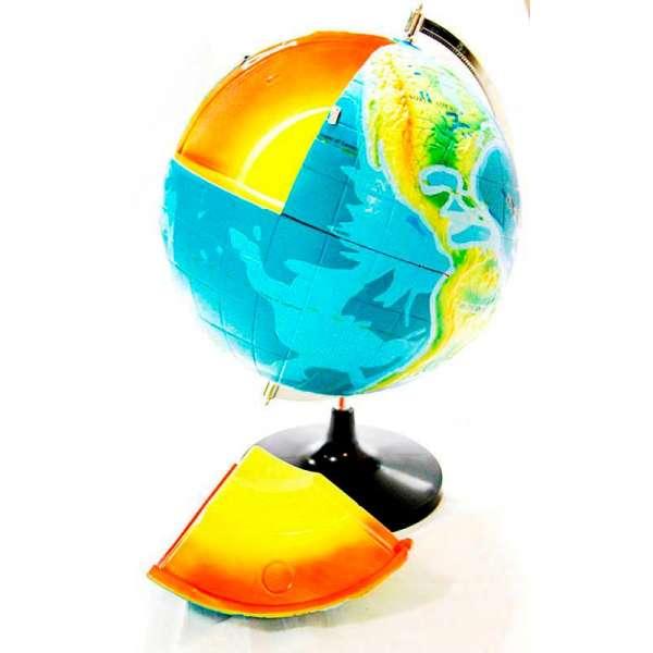 Глобус-модель Будова Землі (розбірна, українська) 320мм