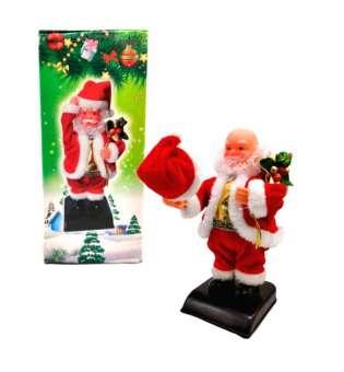 Музична новорічна іграшка Санта