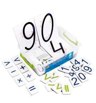 Дидактичний набір для вивчення цифр та знаків