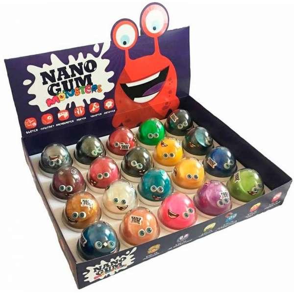 """Набір для творчості та розваг """"Nano Gum"""" 50 грам (ціна за 1шт.)"""