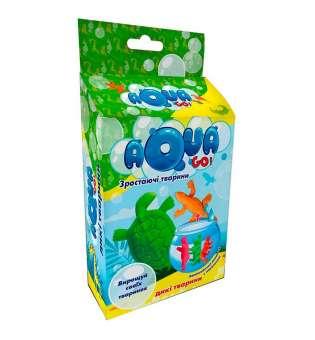 """Тактильний набір (укр) 30256 """"Aqua Go - дикі тварини"""", в кор-ці 23-12-5см"""
