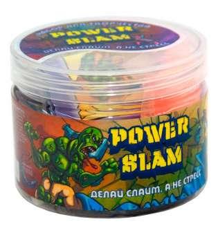 """Набір для виготовлення слайму 71836 (рос) """"Power Slam - асорті"""", в банці 8,5-6,5 см"""