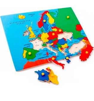 Рамка-вкладка Карта Європи / ЛЕМ