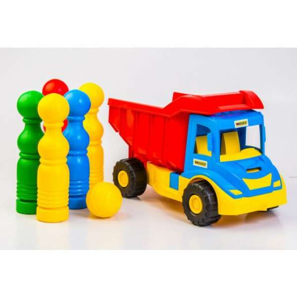 """""""Multi truck"""" вантажівка з кеглями"""