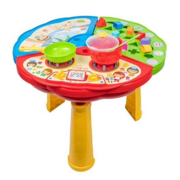 Багатофункціональний ігровий столик для дітей