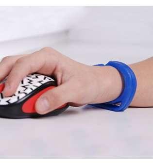 Комп'ютерний браслет для захисту зап'ястка та комфорту при роботі з мишею