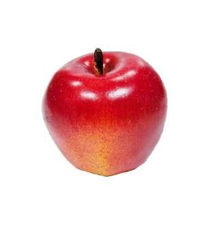Яблуко Yes! Fun червоне з жовтим, 7*7см