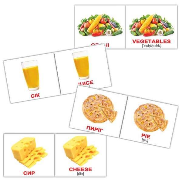 Картки Домана Їжа\Food міні-40