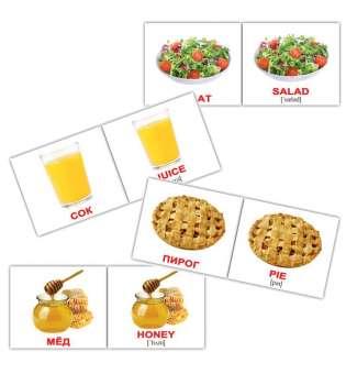 Карточки Домана Еда/Food мини-80