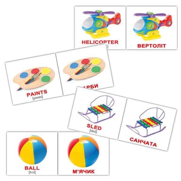 Картки Домана Іграшки/Toys міні-40