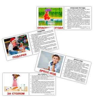 Карточки Домана Правила поведения с фактами мини-40
