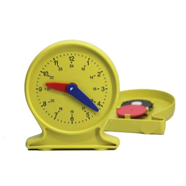Лабораторна модель механічного годинника, для учня, ø 11 см