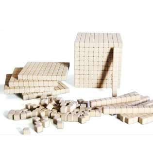 Математичний куб, набір одиниці об'єму, дерево, 121 частина