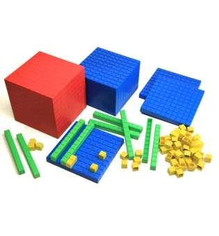 Математичний куб, набір (пластик)